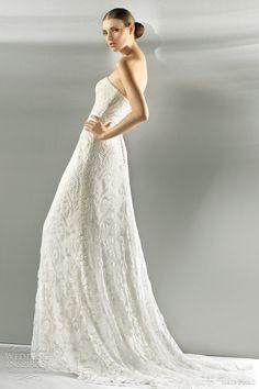 http://weddinginspirasi.com/2011/09/02/jesus-peiro-2012-wedding-dresses/ Jesus Peiro 2012 Wedding Dresses #weddings #weddingdress #sheathdress #bridal #sheathweddingdress #wedding