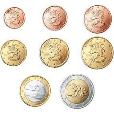 monedas euro serie Finlandia 2015