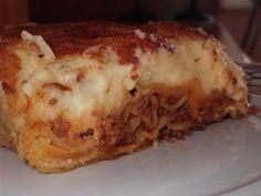 Olga's cuisine...και καλή σας όρεξη!!!: Λαζάνια με κιμά και μπεσαμέλ