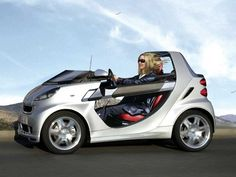 Convertible Smart Crossblade, Smart Auto, Small Electric Cars, Best Electric Car, Weird Cars, Cool Cars, Smart Car Body Kits, Space Car, Gas Scooter
