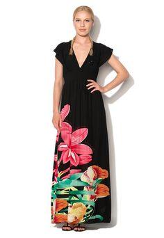 Večbarvna obleka Tabby znamke Desigual in mnogo podobnih izdelkov na Fashion Days