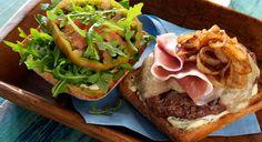 BBQ GRILLING #BBQ #Grilling Italian Beef Burgers