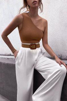Looks Chic, Looks Style, Cute Casual Outfits, Stylish Outfits, Casual Dresses, Elegant Summer Outfits, Classy Chic Outfits, Stylish Clothes, Unique Outfits