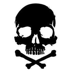 Skull Tattoo Design, Skull Tattoos, Tribal Tattoos, Skull Stencil, Skull Art, Graffiti, Skull Logo, Skull Painting, Skull And Crossbones