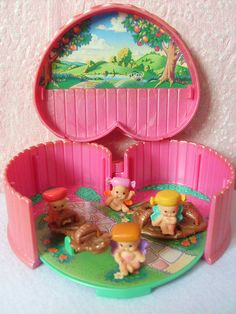 Another Fairy Winkle set I saved for my daughter. They may have been her toys, but I thought they were adorable!