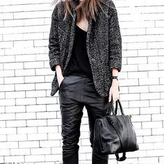 tweed jacket......