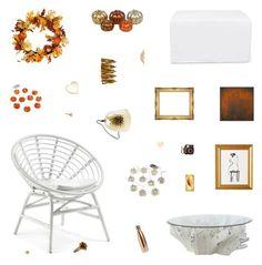 """Autumn Preparations"" by belenloperfido ❤ liked on Polyvore featuring interior, interiors, interior design, home, home decor, interior decorating, Jayson Home, Grandin Road, S'well and Oscar de la Renta"