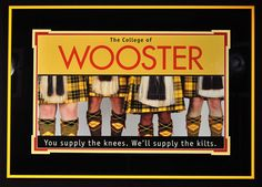 The College of Wooster Scots, Wooster Ohio