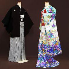 Bridal Hikifurisode with Men's Hakama