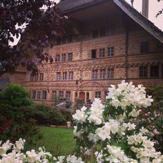 Rossinière (Canton de Vaud) - Balthus house (Large chalet) / Haus Balthus (Grosse Chalet) / Maison Balthus (Grand chalet)