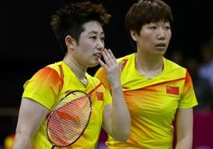 The Chinese women's badminton duo kicked out of the London Olympics for playing to lose have been awarded an honour by China's sports gove. Badminton Match, Badminton Racket, Olympic Badminton, Olympic Games, Time Do Brasil, 2012 Summer Olympics, Michelle Obama, Best Weight Loss, Sports News