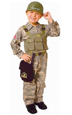 Navy SEAL Army Special Forces Boy's Costume