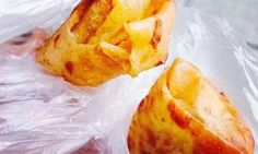 Turon (Sagimis)  POSTED IN: FILIPINO SNACKS TAGS: BANANA, SABA, STREET FOOD Turón is banana wrapped like a spring roll and deep fried with brown sugar. The banana often used is the fat saba variety. Jackfruit is sometimes included in the filling for a sweeter flavor.