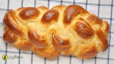 Τσουρέκι Πασχαλινό παραδοσιακό Bread, Food, Breads, Baking, Meals, Yemek, Sandwich Loaf, Eten