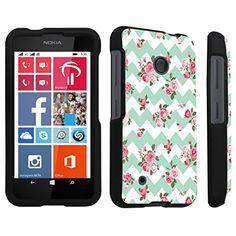 DuroCase ® Nokia Lumia 530 Hard Case Black - (Mint Pink Roses Chevron) DuroCase http://www.amazon.com/dp/B00P8UWOJC/ref=cm_sw_r_pi_dp_VXqHub01DNC9K