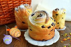 Cookie Desserts, Dessert Recipes, Sweet Pie, Yeast Bread, Easter Treats, Deserts, Food And Drink, Cooking Recipes, Yummy Food