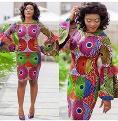 « Colorful Look ❤ ~African fashion, Ankara, kitenge, African women dresses…