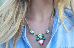Queen Bee Jeweled Necklace 68% off at Groopdealz