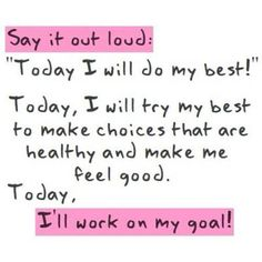 Today i will work on my Goal ❤☀
