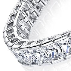 6mm Princess Cut Sterling Silver Channel Set Modern Bridal Channel Set Tennis Bracelet Cubic Zirconia Diamond CZ 40 Carats Minxwinx http://www.amazon.com/dp/B01BG3I1XW/ref=cm_sw_r_pi_dp_Om4Swb19B8FS6