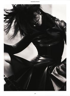 Liu Wen by Txema Yeste for Antidote #4 The Animal Issue