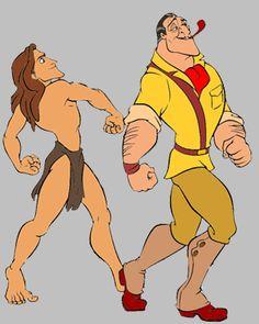 Images of Clayton from Disney's Tarzan. Disney Villains, Disney Movies, Disney Characters, Fictional Characters, Clayton Tarzan, Tigger, Winnie The Pooh, Clip Art, Princess