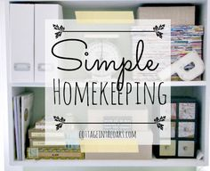 Simple Homekeeping Tips ::: How to Order the Cleaning of a Whole Room