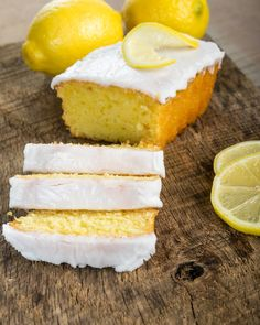I think this is even better than the Starbuck's lemon loaf! So moist and full of lemon flavor and a simple glaze on top makes this absolutely scrumptious!