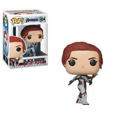 This is an Avengers Endgame POP Black Widow Vinyl Figure produced by the good folks over at Funko. This figure looks great in its Funko POP form! Recommended Ages: Condition: Brand New Dimensions: X 1 Funko Avengers Endgame POP Black Widow Vinyl Figure Funko Pop Marvel, Marvel Avengers, Captain Marvel, Avengers Movies, Avengers Quotes, Avengers Cast, Captain America, Avengers Costumes, Funk Pop