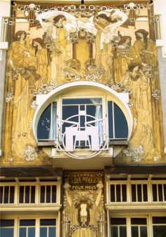 Cauchie House, one of the finest examples of Art Nouveau in Brussels.