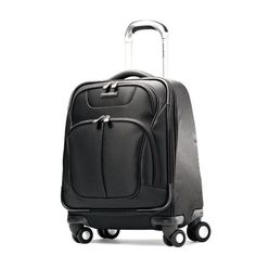 Samsonite Luggage Hyperspace Spinner Boarding Bag, Galaxy Black, One Size - - Product Description: The essence of hyperspace is embodied in every detail from the exceptional fabric and protective hone Cheap Luggage, Luggage Deals, Best Luggage, Best Suitcases, Designer Luggage, Samsonite Luggage, Luggage Accessories, Best Bags, Best Budget