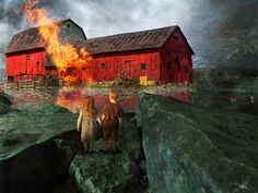 'Red Barn' by Harald Fischer