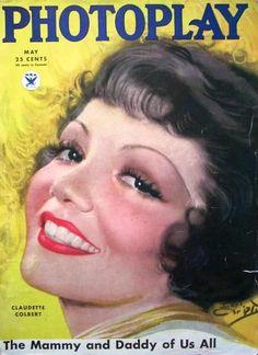 Claudette Colbert - May 1934
