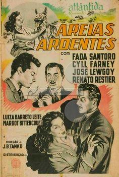 """ANOS DOURADOS: IMAGENS & FATOS: FATOS = ANOS 50 Cinema nacional dos anos 50. Atentem para os atores e atrizes que participaram desses filmes. Muitos tiveram seus nomes """"perpetuados"""" por trabalhos também  no rádio e (principalmente) TV. filme de 1952"""
