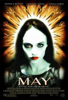'Be careful… she might just take your heart.' May is a 2002 American psychological horror film written and directed by Lucky McKee (All Cheerleaders Die; The Woman; The Woods), ma…