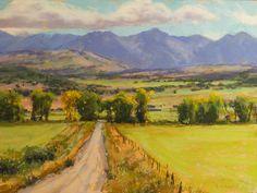 Aaron Schuerr, Ridgeway, CO 12x16, pastel.