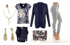 """""""Rosy"""" by kjmazeltov ❤ liked on Polyvore featuring 1928, Vero Moda, Alexander McQueen and Ted Baker"""