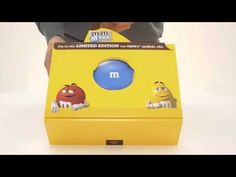M&Ms MEGA Limited Edition Promo Kit on Packaging of the World - Creative Package Design Gallery