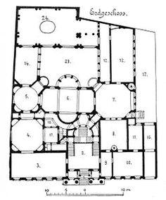 Palais Strousberg Berlin - Grundriss 1st etage