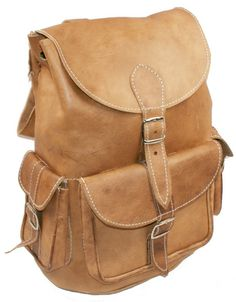 Echt Leder Rucksack umhängetasche Ziegenleder xl von Casami-Leder auf DaWanda.com
