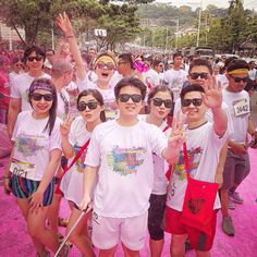 Color Run smg