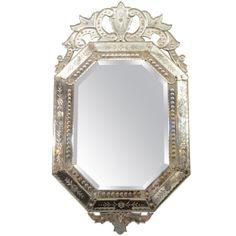 Vintage Venetian Mirror #1960s #Vintage #VintageFurniture