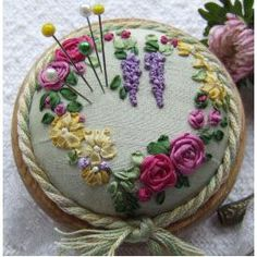 Wonderful Ribbon Embroidery Flowers by Hand Ideas. Enchanting Ribbon Embroidery Flowers by Hand Ideas. Learn Embroidery, Rose Embroidery, Embroidery Needles, Embroidery For Beginners, Embroidery Kits, Embroidery Supplies, Embroidery Tattoo, Embroidery Materials, Butterfly Embroidery