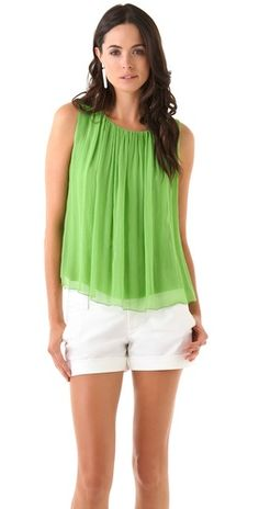 Beautiful colored tank by Alice & Olivia
