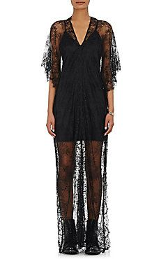 Lace Cocoon Gown