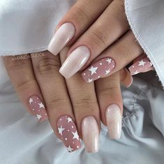 Year's Nail Designs That Are Perfect to Try Right Now Nail Swag, New Year's Nails, Pink Nails, Perfect Nails, Gorgeous Nails, Be Perfect, Cute Nails, Pretty Nails, Cute Nail Art