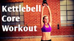 BodyFit by Amy: 15 Minute Kettlebell Core Workout For Strong Abs.