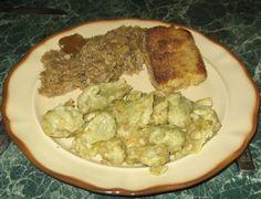 KLUSKI KLADZIONE PYZOWATE – poświąteczny obiad