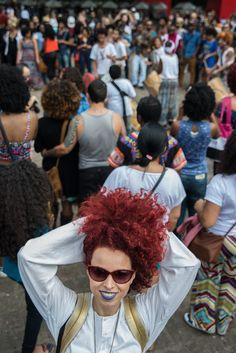 Nanda Cury #MarchadoOrgulhoCrespo . Foto: Carolina Cury #RedCurls #CurlyHair #NaturalHair Natural, Blog, Kinky Hair, Photos, Nature, Au Natural