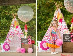 Pink Wildflower Birthday Party - Inspired By This